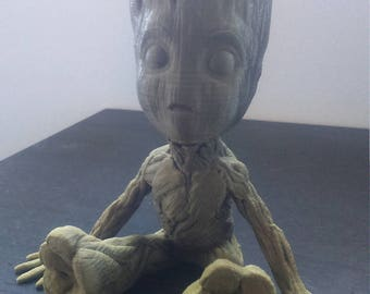 Baby Groot the guardians of the galaxy