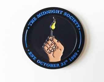 "LIMITED - Are You Afraid of the Dark? inspired ""The Midnight Society"" Soft Enamel Pin"