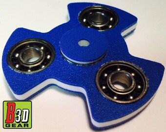 """THE """"PROPELLER"""" SPINNER - fidget toy, spinner, fidget spinner frame, focus spinner, tri-bar fidget, triple fidget, triple bearing spinner"""