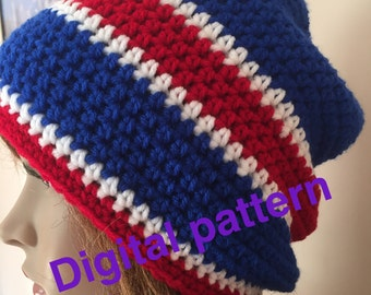 NY Giant hat PDF pattern