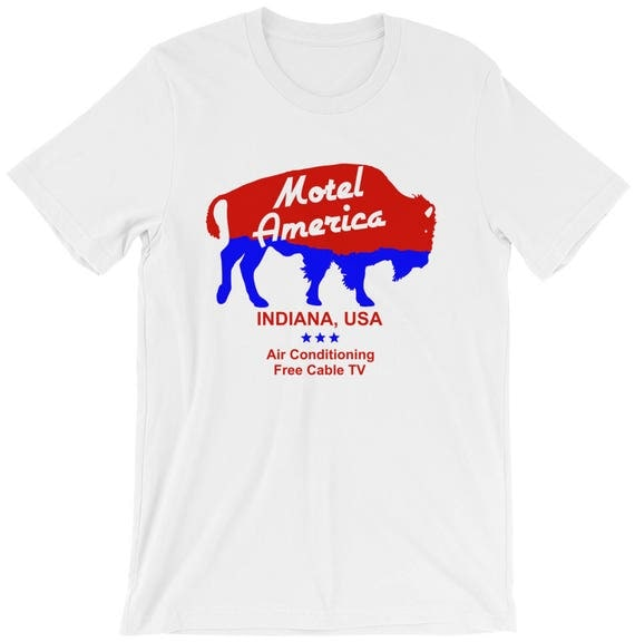 The t-shirt Motel America Shadow Moon (Ricky Whittle) in American ...