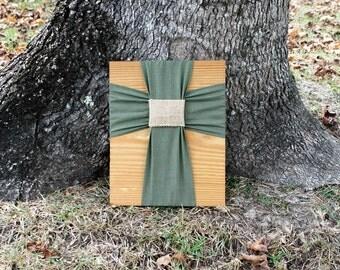 Cross/Fabric Wall Cross/ Fabric Cross on Wood/Wall Cross/Cross Wall Decor/Wood Cross/Cross Decor/Decorative Wall Cross/