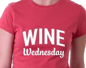 Wine Wednesday TShirt