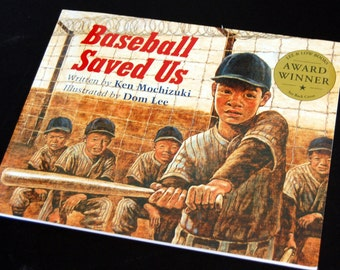 Book about Sports, Baseball Saved U, sCollectible Book, Vintage Childrens Book, Inscription Book and Signed , Vintage Childrens Books