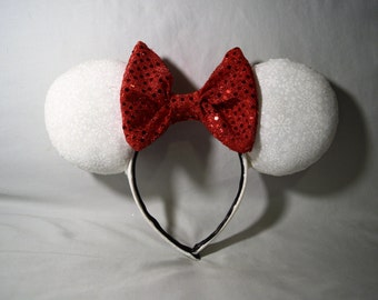 Winter Wonderland Minnie Mouse Ears