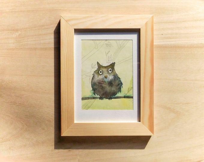 Owl - Original illustration