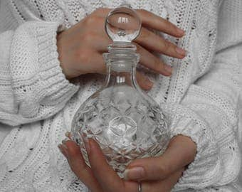 Glass Decanter Vintage