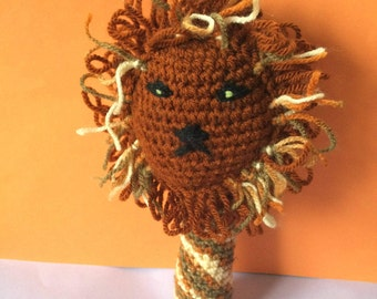 Doudou rattle Sher the lion