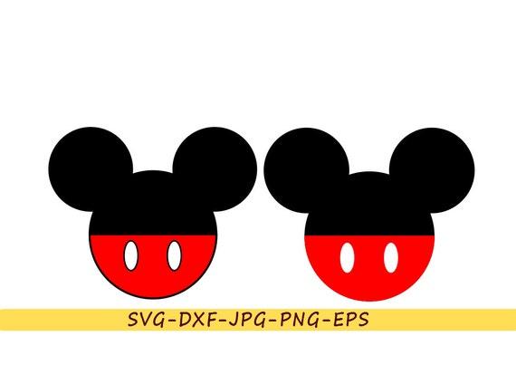 mickey mouse svg head ears silhouette disney clip art in svg Mickey Mouse Head Clip Art Mickey Mouse Border Clip Art