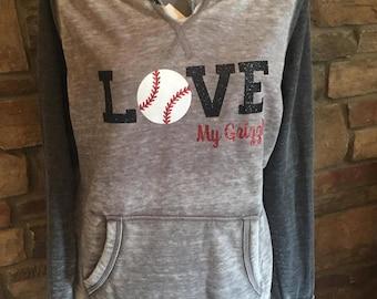 Baseball Love Sweatshirt, Baseball Mom Sweatshirt, Custom Team Name Sweatshirt, Custom Baseball Mom Hoodie, Baseball Mom, Baseball Mom Shirt