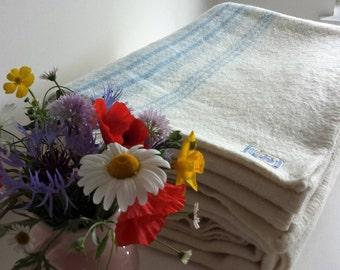 Vintage Unused Scottish Wool Blanket