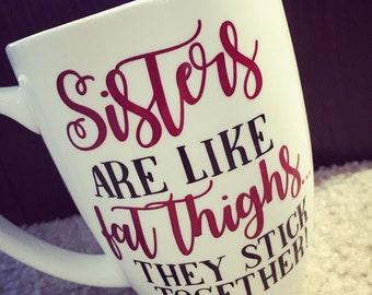 Sister gift, sister mug, gift for sister, funny gift, birthday gift for her, birthday gift for sister, funny sister gift, sisters gift