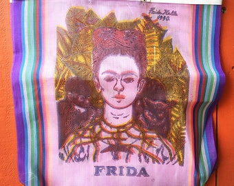 Frida Kahlo Recyclable Tote