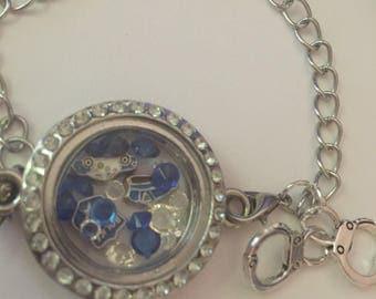 Law Enforcement Locket Bracelet