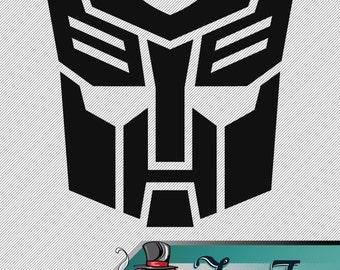 Vinyl Decal- Transformers Autobots Logo