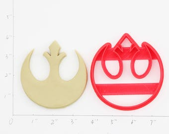 Rebel Alliance Cookie Cutter Rebel Alliance Birthday Rebel Alliance Party Rebel Alliance baby show Rebel Alliance cupcake