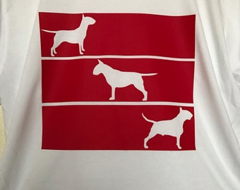 Trio bullies red block tee