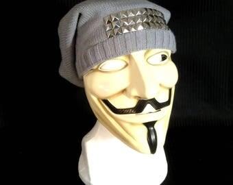 Knit Stud Cap
