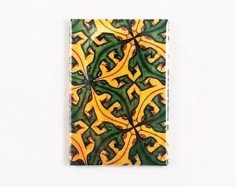 MC Escher's Lizard Tessellation 2 x 3 Magnet