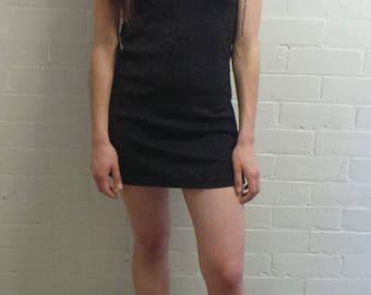 Small Black Sparkle Mini Dress