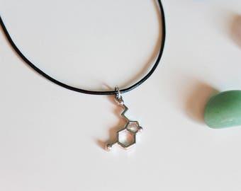 Serotonin Molecule Choker