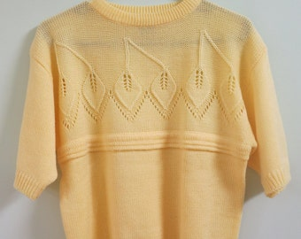 ICZ Yellow Knit