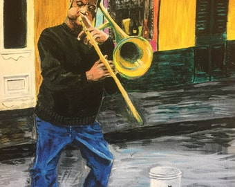 New Orleans Jazz Trombone