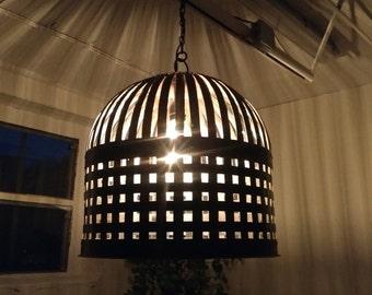 Industrial design ceiling light hanging lamp Ø45 cm handmade lounge loft factory