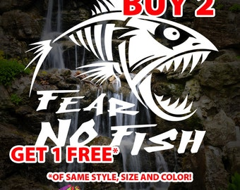 Fishing Decal Etsy - Fishing decals for trucks