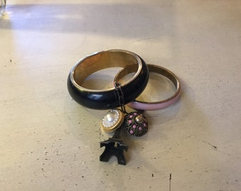 Glamour bracelet with charms