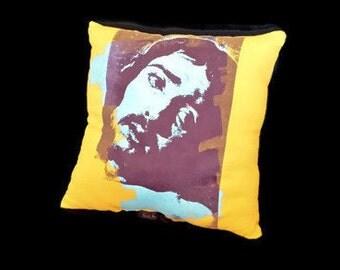 Hipster Jesus Pillow