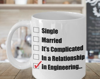 Engineering Mug, Engineer Gifts, Engineer Mug, Gift For Engineer, Funny Coffee Mug,