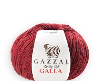 Gazzal GALLA Lana Merino wool blend merino yarn color choice wool yarn warm yarn winter yarn merino wool shiny yarn
