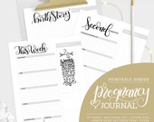 Pregnancy Journal (45 sheets) - Letter size