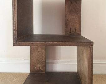 S Shaped Side Table