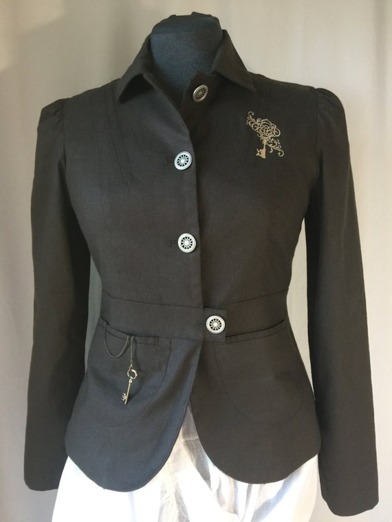 Upcycled Steampunk Jacket