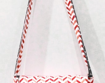 Chevron Arrow Messenger Bag, Ipad Bag, Crossbody Bag