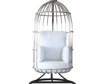 White Bird Hanging Chair