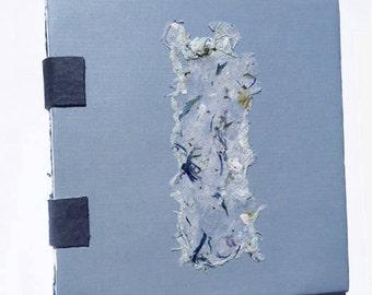 Handmade Journal Book- Blue Floral