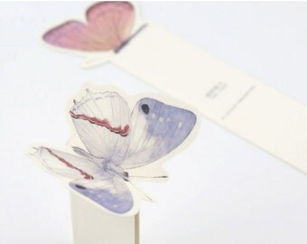 30 Pcs Butterfly bookmarks in 1 box
