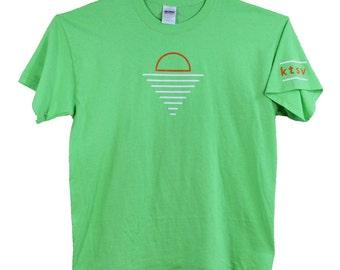ktsv SALE! youth design green T-shirt
