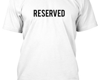RESERVED. Ships in 1-2 days. Tshirt. Shirt. BebasBaBebas.