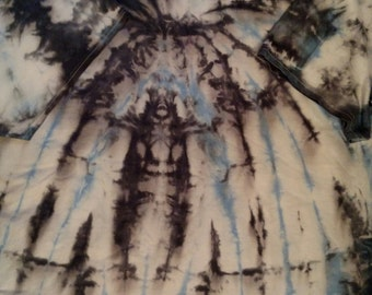 Men's Tie Dye Short Sleeve - 3XL