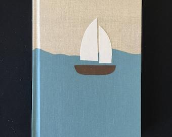 Hard Cover Sailboat Journal