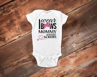 Cute Baby Girl Onesies® Bodysuit, Nurse Onesies® Bodysuit, Nurse Onesies® Bodysuit, Body Suit, Baby Onesies® Bodysuit, Baby Girl Clothes