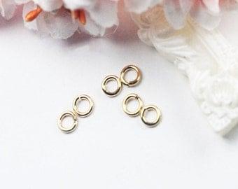 18gauge 1.05x5mm 14K Gold Filled High Quality Jump Ring