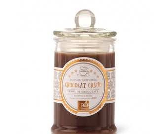 Hot chocolate scented candle / candy box (30 h)