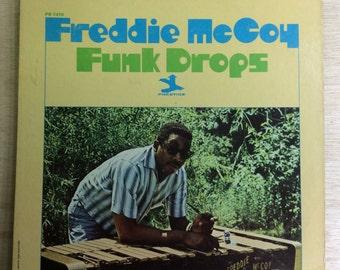 Jazz Funk Lp Freddie McCoy Funk Drops Vintage Prestige Records Vinyl