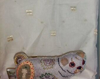 Pug Art Doll