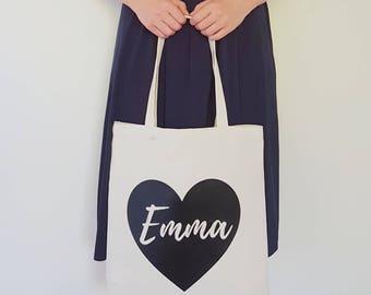 Bridesmaid Tote Bag /Custom Tote / Personalised Tote Bag / Bridesmaid gift
